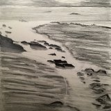 Seascape in Graphite