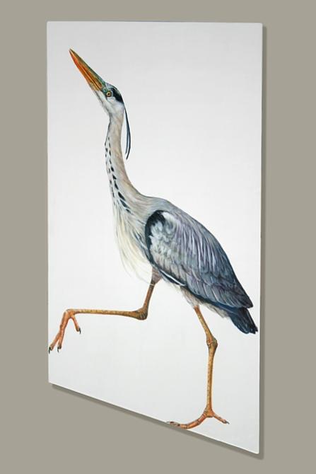 Striding Heron