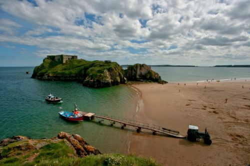 St Catherine's Island and Tenby Shore
