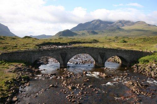 The Bridge at Sligachan