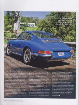 GT Porsche Magazine, 1968 Porsche 911E SWB words & photo article