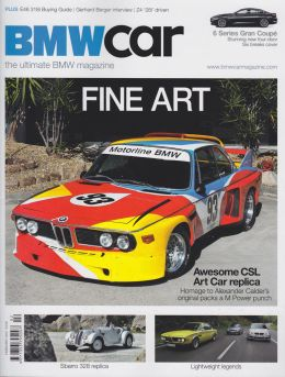 BMW Car Magazine Feb 2012 Front Cover Photo