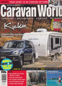 Caravan World Magazine front cover photo