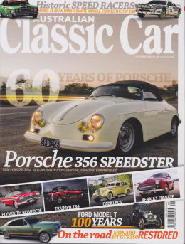 Australian Classic Car Magazine front cover