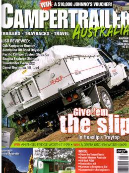 Camper Trailer Australia Magazine front cover