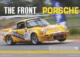 Tarmac Magazine Porsche 911 article