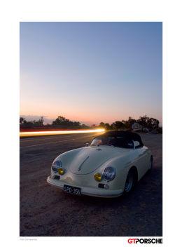 GT Porsche Magazine Poster