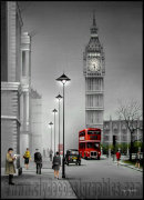Big Ben London 1957