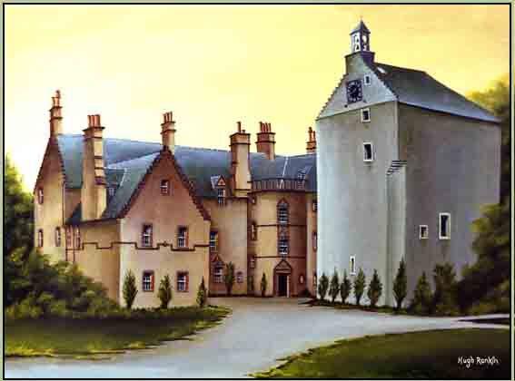 Cessnock Castle Galston