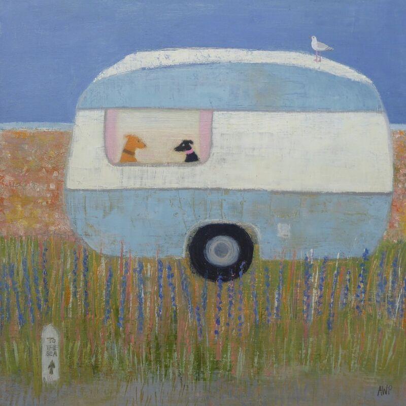 Blue Caravan Dungeness