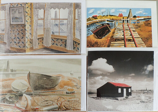 Rye Harbour card pack