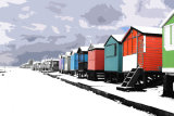 Beachhuts-in-the-snow