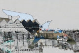 Gull and Whitstable Harbour Cutout 1