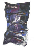 Mackerel feltwork 1