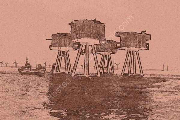 Shivering Sands Forts - 1