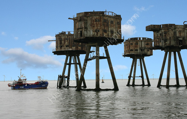 Shivering Sands Forts - 2