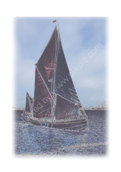 Thames Barge -1