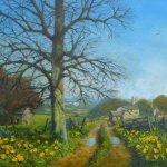 Farm Lane in Spring