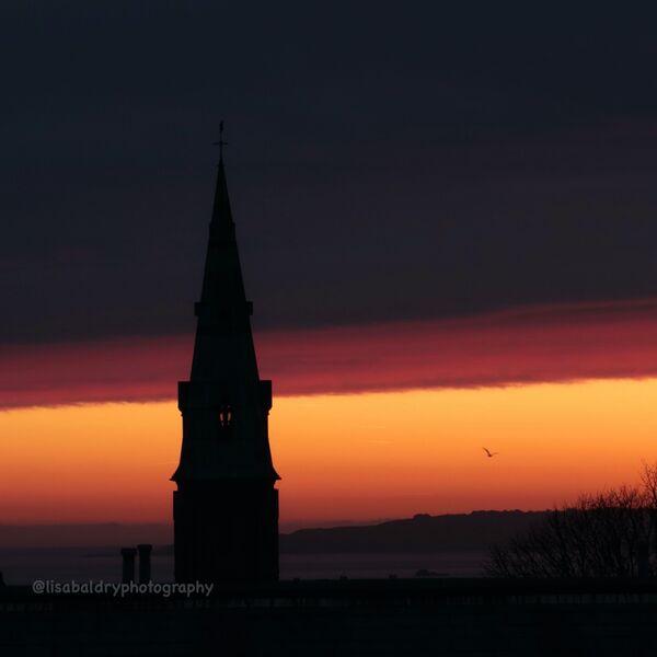 Nature : sunrise Guernsey