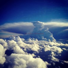 From Above : Sky, clouds
