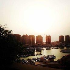 Morning sunrise : Doha, Qatar