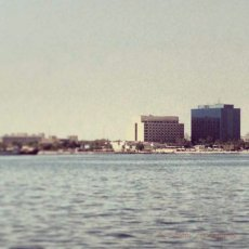 Memory Lane : Gulf hotel (now the Marriott) from the sea