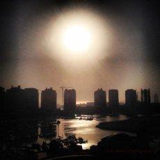 Early sunrise : Doha, Qatar