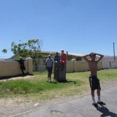 Street life in the Western Cape ...
