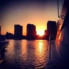 Glorious Sunset …