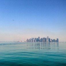 Early morning boat trip : Westbay, Doha, Qatar