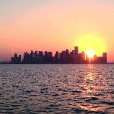 Westbay Sunset : Doha, Qatar