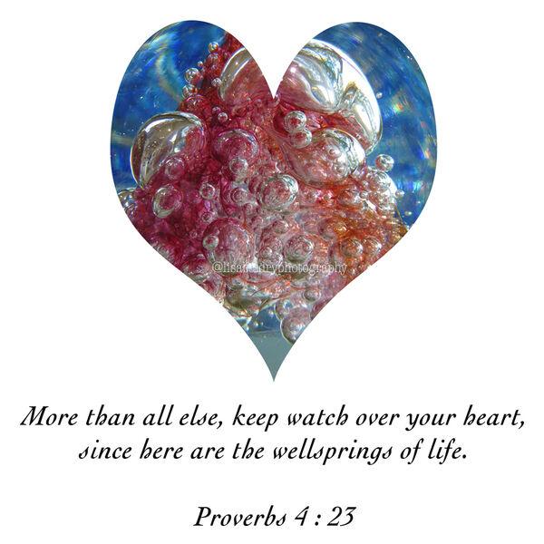 LBP - Proverbs 4 : 23