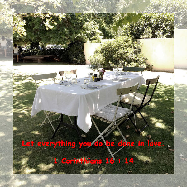 LBP - 1 Corinthians 16 : 14