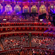 It's that time of year ... we're off to Singalong to Christmas Carols at the Royal Albert Hall