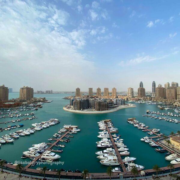 Nature vs Architecture : The Pearl, Doha