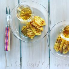 Caramelised pineapple & Rum