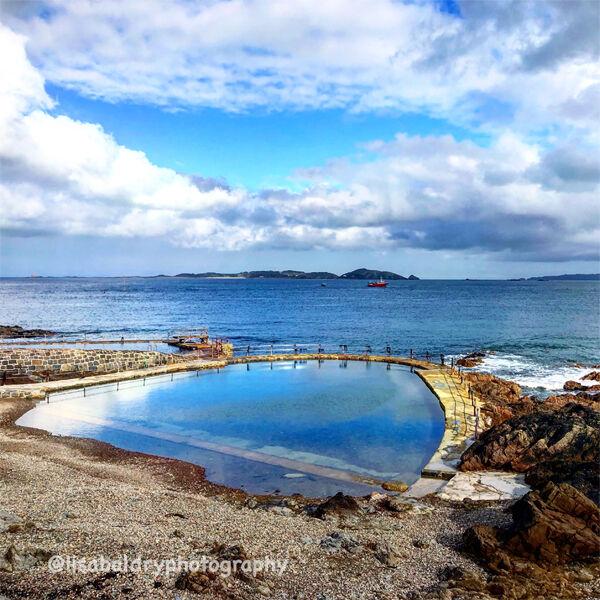 Nature  La Vallette Bathing Pool, English Channel