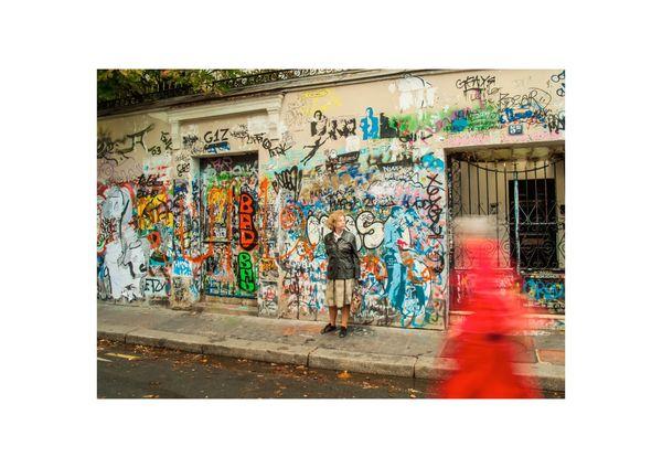 Paris - La maison de Serge Gainsbourg