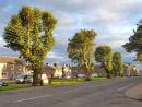 Douglas Square, Newcastleton village centre.
