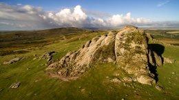 """""""Aerial Dartmoor Hay Tor"""""""