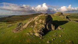 """""""Aerial Dartmoor HayTor"""""""