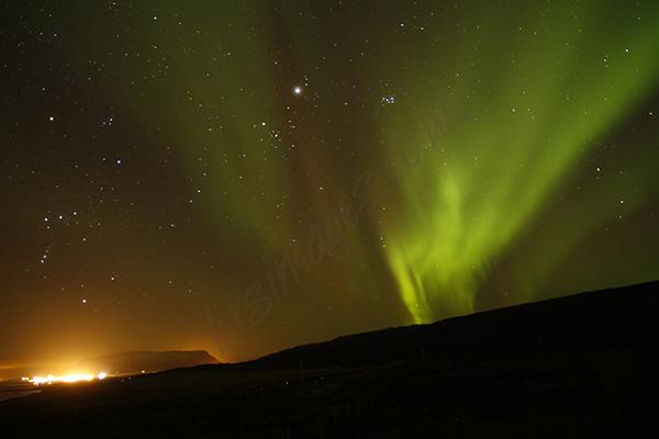 """Icelandic Light Show"""