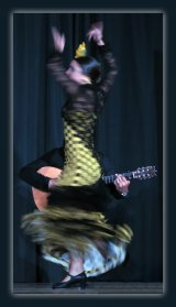 Highly Commended 'Flamenco' Rachel Domleo