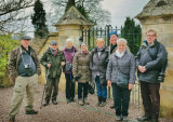 Our visit to the Rococo Gardens to photograph the Snowdrops. 6th February 2018