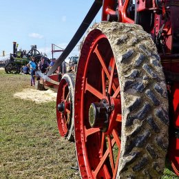 Highly Commended - 'Big Red Wheel' by Brian Braybrooke