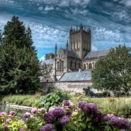 Third Prize - 'Wells Cathedral' by Mike Smith