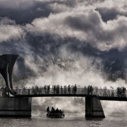 First prize - 'Fog Bridge' by Rachel Domleo