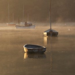 Commended - 'Boats in Rolling Morning Mist '