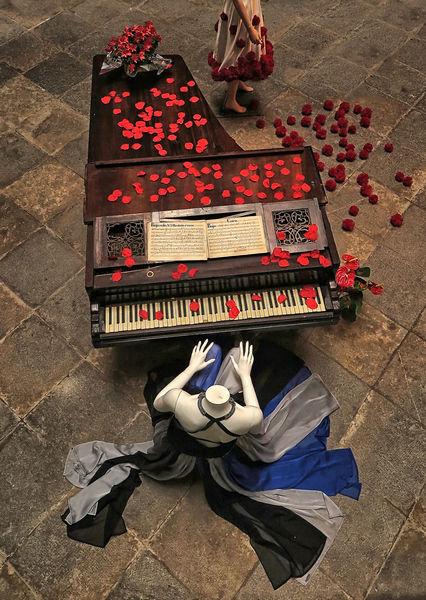 "1st  ""The Piano"" by Rachel Domleo."