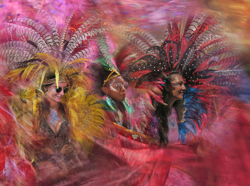 First Place 'Diverse and Colourful Carnival' by Rachel Domleo